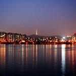 Menghabiskan waktu malam di Seoul