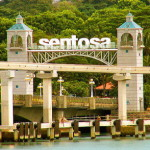 Sentosa Island and Song of The Sea in Sentosa Island