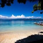 Menikmati wisata Pantai di Gili Trawangan