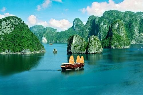 Halong bay Vietnamt