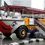 Keliling kota Singapura via Ducktour
